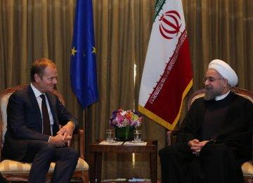 Tehran Ready for Developing EU Ties