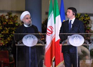 Italy's Renzi to Visit