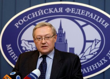 Moscow Concerned About  Slowdown in P5+1 Talks