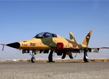 New Trainer Fighter Jet on Display