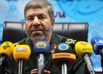 IRGC Denies Firing Rockets Near US Warships