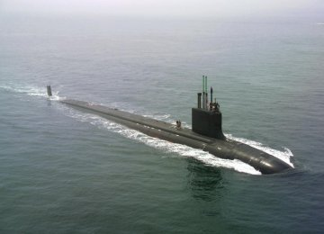 Tests on New Submarine