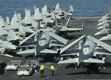 Military Conducts Daily Surveillance of US Warships