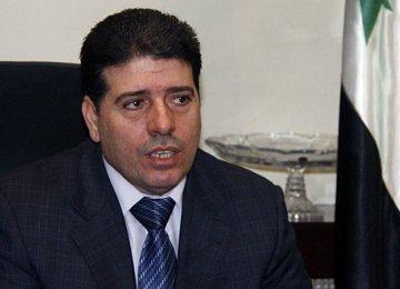 Syria PM's visit