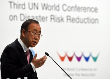 UN Disaster Meeting  Opens in Japan