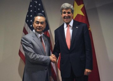 China: Iran Deal Good for Sino-US Relations