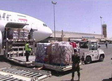Aid to Yemen Via Oman