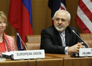 Zarif Confers With Austria, Italy FMs