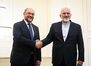 Zarif Meets EP President