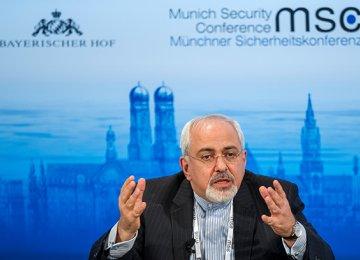 Zarif to Attend Munich Confab