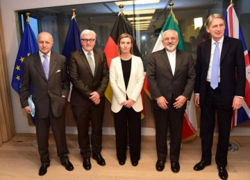 Zarif to Meet European  Counterparts in Luxembourg