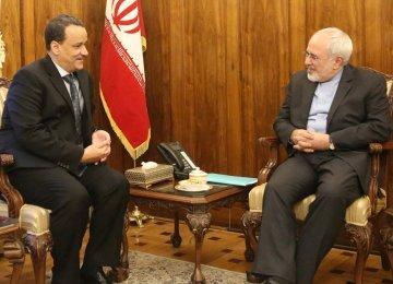 Iran Backs UN Role to Settle Yemeni Crisis