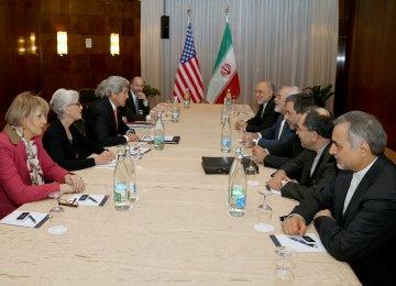 US Talks in Lausanne
