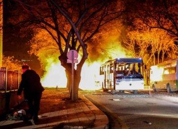 Kurdish Militants Blamed for Ankara Bomb
