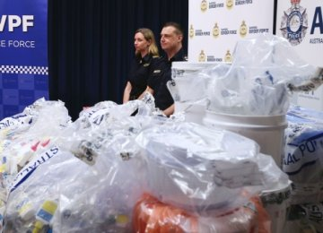 Australian Police Make $900m Drug Haul