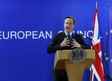 Cameron Pleads With EU Leaders Over Reforms