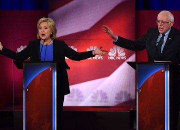 Sanders, Clinton Clash in One-on-One Debate