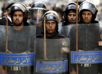 Egypt Warns Against Unrest on Uprising Anniversary