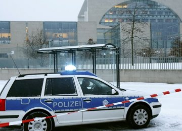 Suspicious Object at German Chancellery