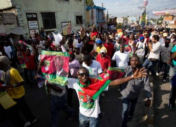 Haiti Protesters Reject Upcoming Vote