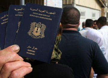 Passports From IS Areas Invalid