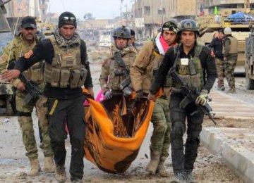 IS Counterattacks Target Iraqi Troops in Ramadi