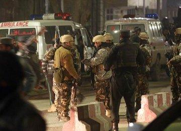 4 Kabul Embassy Attackers Killed