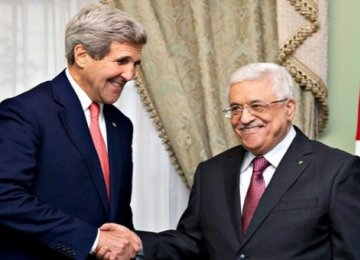Kerry, Abbas Discuss Israel-Palestine Tension