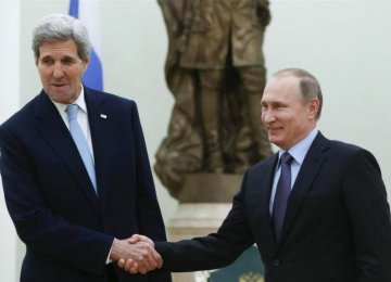 Kerry Accepts Russian Stance Over Syria