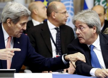 US, Italy Support Libya Unity Gov't to Deter IS