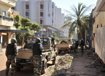Dozens Killed in Mali Hotel Attack
