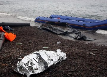 10 Migrants Drown Off Greek Island