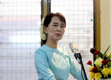 Suu Kyi Says China Ties Deserve Close Attention