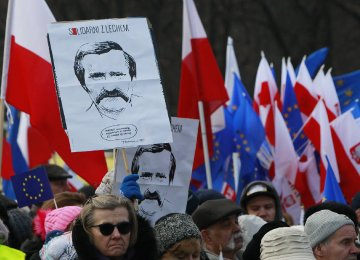 Thousands Protest Against Polish Government