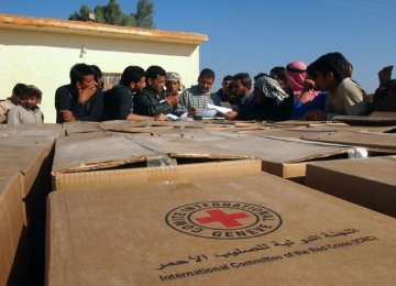 ICRC Seeking to Provide Aid in IS Territory