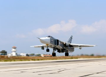 Russia Working With US in Syria Air Campaign