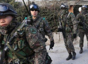 S. Korea Warns Off Suspected Drone