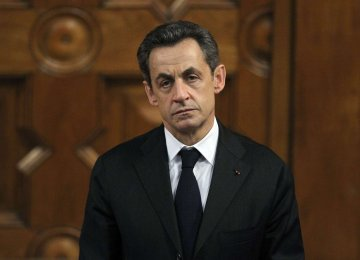 Sarkozy Charged Over 2012 Campaign Funding