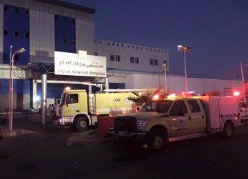 24 Dead  in Saudi Hospital Fire