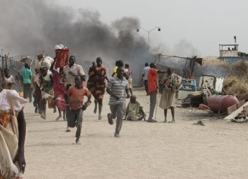 Fighting at UN Compound in S. Sudan Kills 18