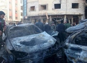 Suicide Bombing at Damascus Police Club