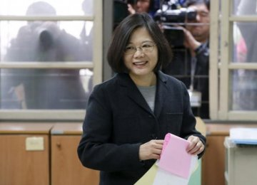 Taiwan Votes for New President