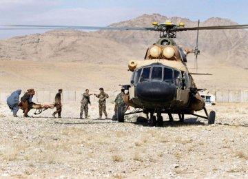 Taliban Seize Afghan Soldiers  After Chopper Crash
