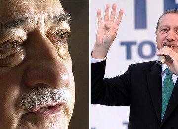 Turkey Detains Police Supporters of Erdogan Foe
