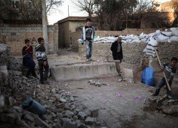 Thousands of Turkish Civilians Stuck in War Zone