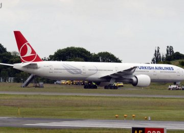Turkish Plane Diverted Over Bomb Threat