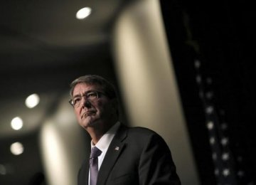 Ash Carter in Afghanistan