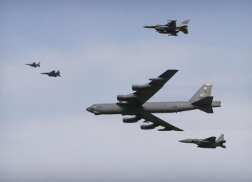 US Flies Bomber Over S. Korea