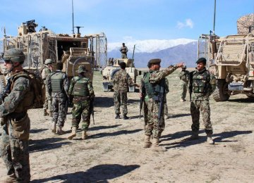 US Soldier Killed in Afghan NATO Mission