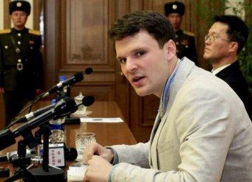 "US Student Stole ""Propaganda""  From North Korean Hotel"